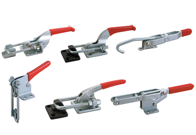 pull action latching toggle clamps