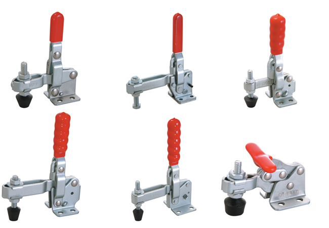 vertical toggle clamps